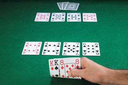 Seven card Stud regels
