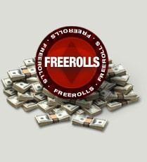 Speel gratis poker met freerolls