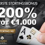 200% bonus tot €1000