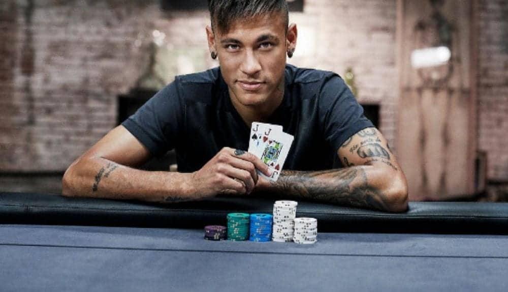 Wordt Neymar het nieuwe gezicht van poker?